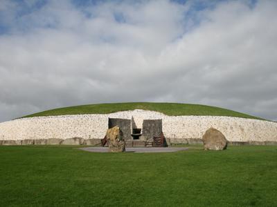 Newgrange Neolithic Tomb in Ireland