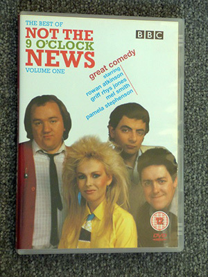 Not the Nine O'Clock News DVD