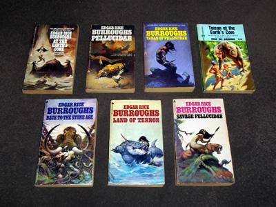The 'Pellucidar' Novels by Edgar Rice Burroughs