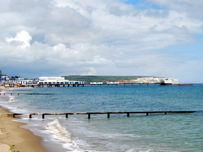 Sandown Pier on the Isle of Wight