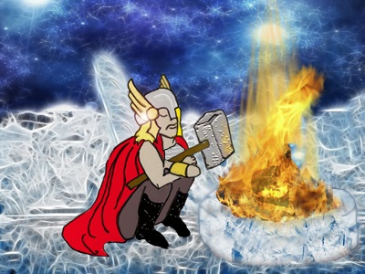Thor the mighty.