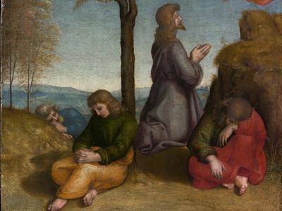 Renaissance oil painting Raphael