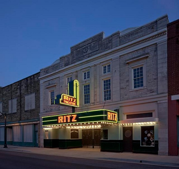 The Ritz Theatre in Sheffield, Alabama, USA.