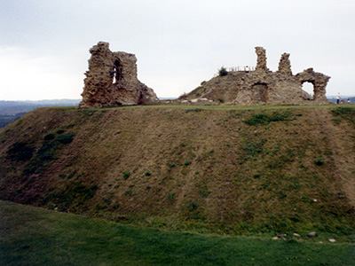 Sandal Castle in Wakefield.