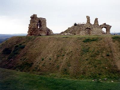 Sandal Castle in Wakefield.