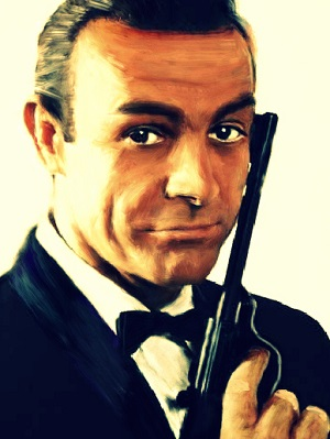 Sean Connery as James Bond. Picture by Lanzababy