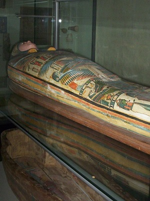 A Mummy in Exeter's Royal Albert Memorial Museum