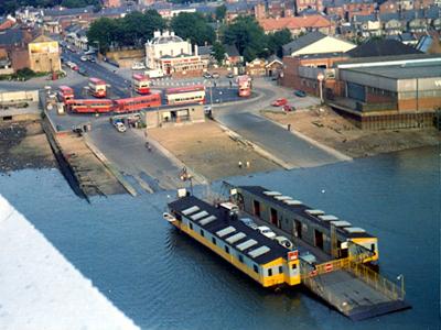 Southampton's Floating Bridge chain ferry