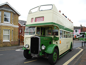 The Old Girl Southern Vectis Bus