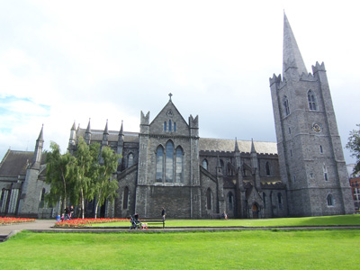 St Patrick's Cathedral, Dublin, Ireland.