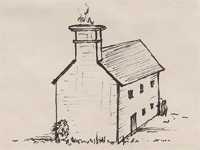 Drawing of a 'Stone Ender' house.