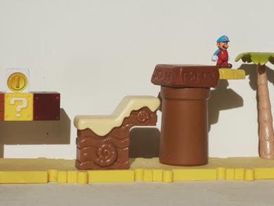 Super Mario Bros desert level