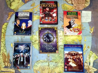 Pratchett DVDs.