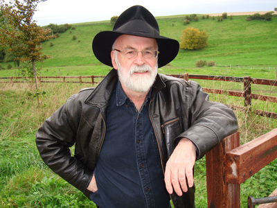 Terry Pratchett. Image (c) Rob Wilkins.