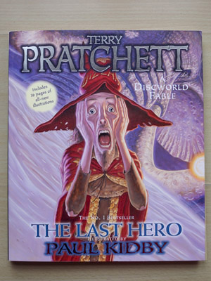Front cover of 'The Last Hero' by Paul Kidby