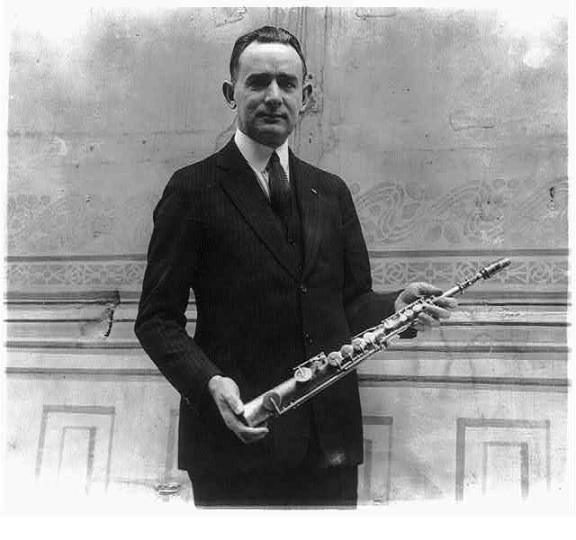 The first saxophone.