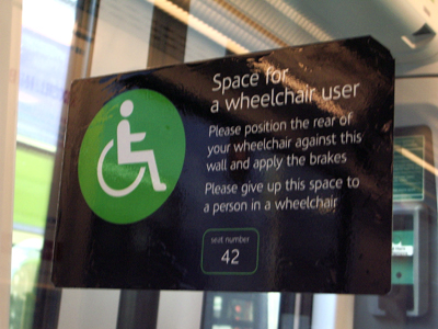 Travelling by Train in the UK - a Wheelchair User's Perspective