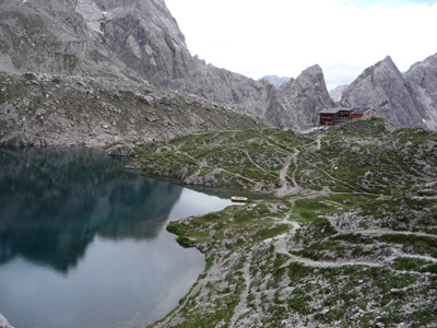 Tyrol Mountain Lake