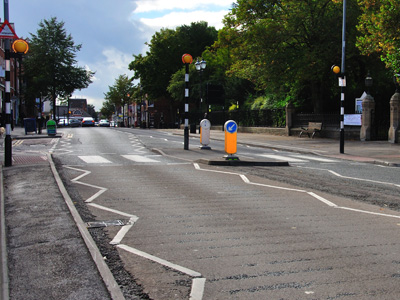 A zebra crossing in the UK.