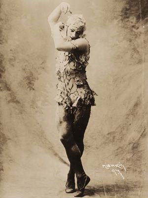 Photo of Vaslav Nijinsky.