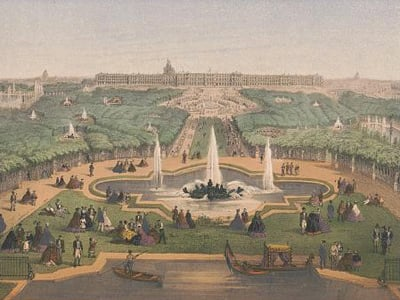 Print of the Palace of Versailles