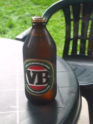 A VB bottle.