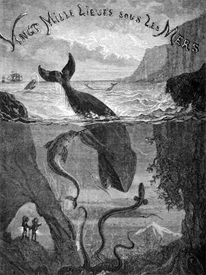 'Vingt Mille Lieues Sous Les Mers' Book Cover