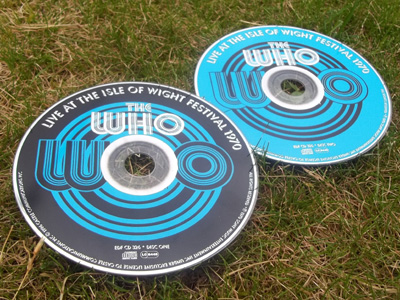 The Who Live at the IOW Festival 1970 Album