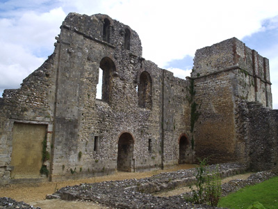 Wolvesey Castle.