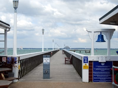 Yarmouth Pier on the Isle of Wight