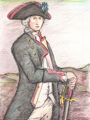A young Lord Nelson by Rosie