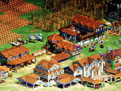 Screenshot from Age of Empires II: Age Of Kings © Microsoft Corporation.
