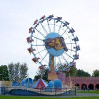 The Alakazam wheel in Pleasure Island Cleethorpes.