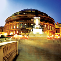 The Royal Albert Hall in London, host of The Proms Festival.