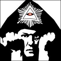 Author Aleister Crowley.