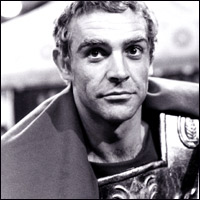 Sean Connery as Alexander the Great.