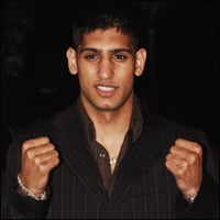British boxing sensation Amir Khan.