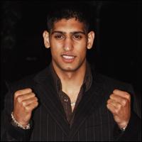 British boxing sensation Amir Khan.