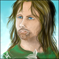 Lord of the Rings character Aragorn.