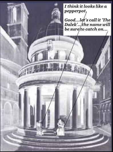 Another Dalek joke.