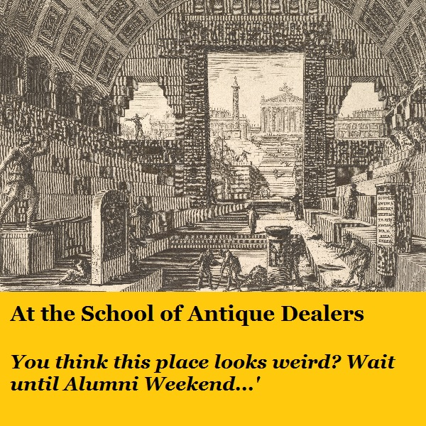 Another graduate of the Acme School of Antique Dealers.
