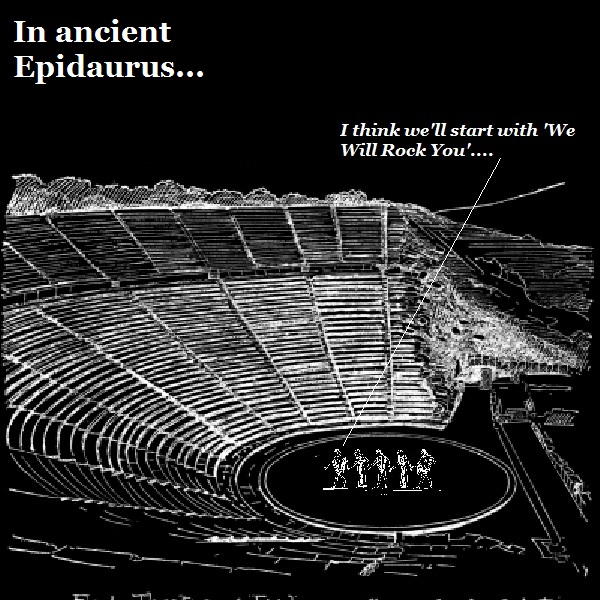 The Epidaurus concert should be a sellout.