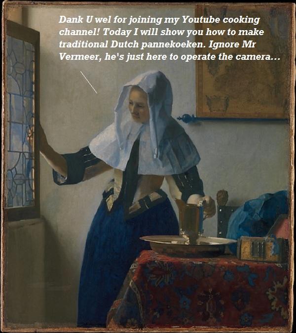 A Vermeer painting as Youtube video