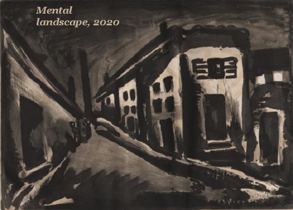 A mental landscape after a month in quarantine.