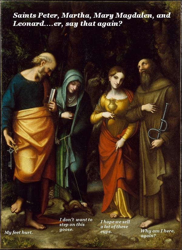 Some mismatched saints.'
