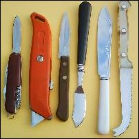 Some knives.
