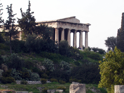 The Agora in Athens