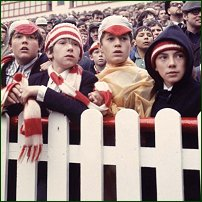 Some old-school football supporters.