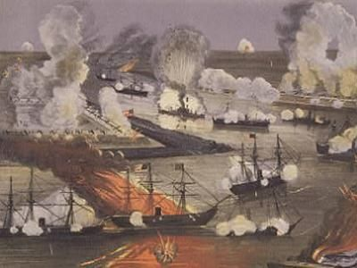 The Battle of New Orleans.