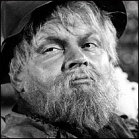 Benny Hill as a hobo in 'The Changeling' (1962).